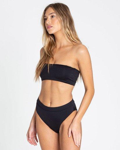 2 Sol Searcher Rise High-Waisted Bikini Bottom Black XB56TBSO Billabong