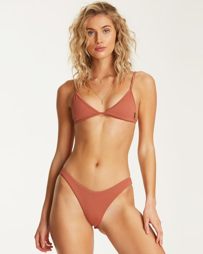 2 Kissed By The Sun Hike Bikini Bottom Brown XB80TBKI Billabong