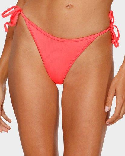 3 Kissed By The Sun Biarritz Bikini Bottom Pink XB83TBKI Billabong