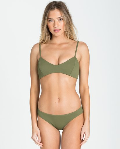 2 Love Myself Lowrider Bikini Bottom Green XB93NBLO Billabong