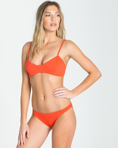 1 Love Myself Tropic Bikini Bottom Red XB94NBLO Billabong