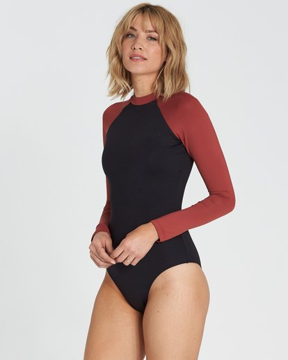 1 Sol Searcher Bodysuit Rashguard Black XR01SBSO Billabong