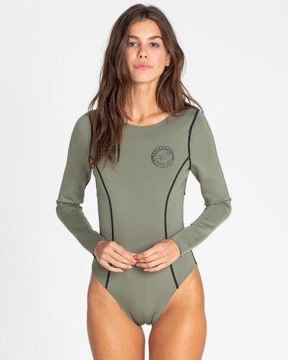 2 Surfed Out Bodysuit Black XR11TBDE Billabong