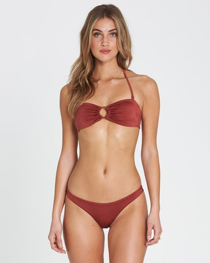 0 Sol Searcher Bandeau  Bikini Top Red XT01SBSO Billabong