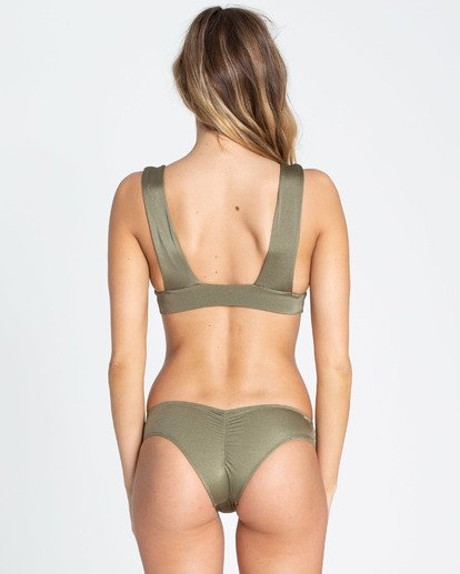 2 Sol Searcher Plunge Bikini Top Green XT01TBSO Billabong