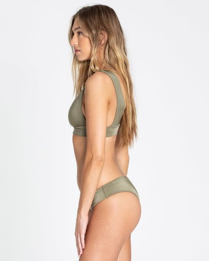 1 Sol Searcher Plunge Bikini Top Green XT01TBSO Billabong