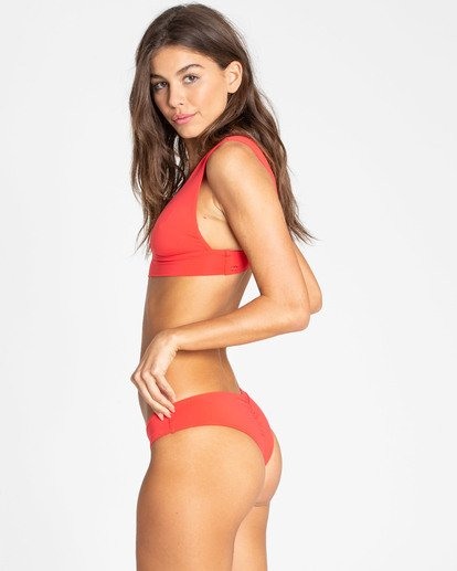 1 Sol Searcher Plunge Bikini Top Red XT01TBSO Billabong