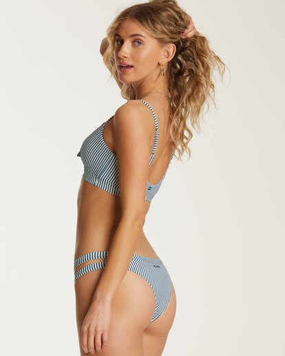 3 Sea Rinse Tie Tank Bikini Top Blue XT05TBSE Billabong