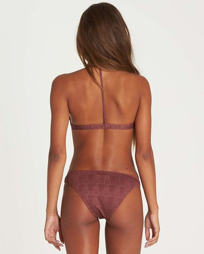 2 Way To Love Tri Bikini Top Purple XT15NBWA Billabong