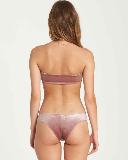 2 Fool4U Bandeau Bikini Top Purple XT17QBFO Billabong