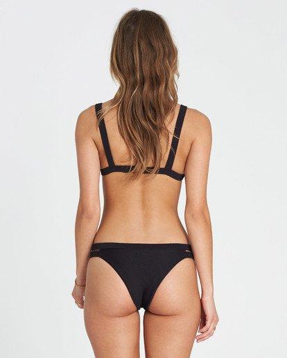 2 Tanlines Fixed Tri Bikini Top Black XT20NBTA Billabong