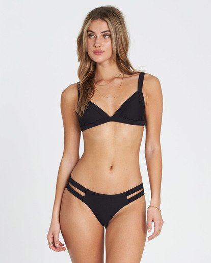 0 Tanlines Fixed Tri Bikini Top Black XT20NBTA Billabong