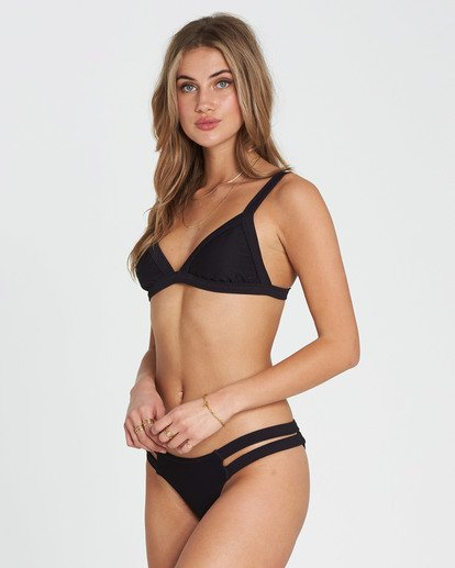 1 Tanlines Fixed Tri Bikini Top Black XT20NBTA Billabong
