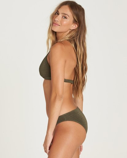 2 No Hurry Halter Bikini Top Green XT23QBNO Billabong