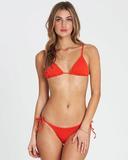 0 Fire Slide Tri Triangle Bikini Top Red XT24SBFI Billabong