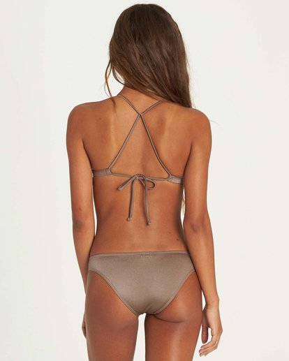2 Sol Searcher Fixed Triangle Bikini Top Beige XT27LSOL Billabong