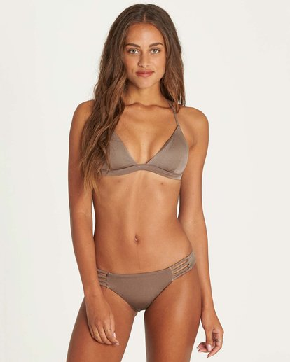0 Sol Searcher Fixed Triangle Bikini Top Beige XT27LSOL Billabong