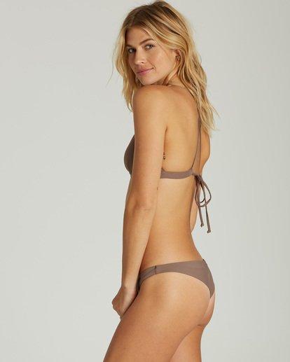 2 Sol Searcher Fixed Triangle Bikini Top Beige XT27LSOL Billabong