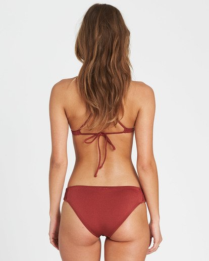 3 Sol Searcher Fixed Triangle Bikini Top Red XT27LSOL Billabong
