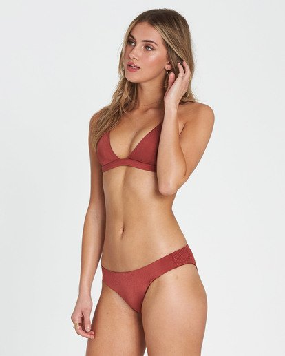 2 Sol Searcher Fixed Triangle Bikini Top Red XT27LSOL Billabong