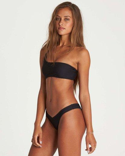 1 Tanlines One Shoulder Bikini Top Black XT42NBTA Billabong
