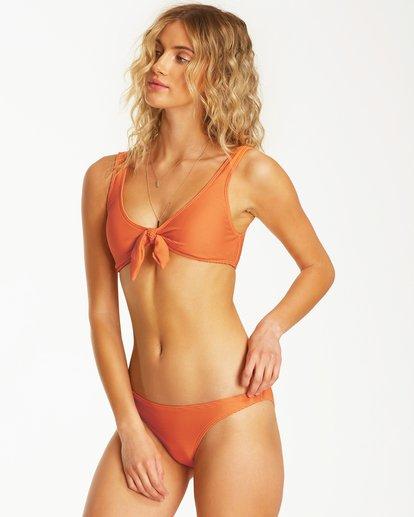 1 Tanlines Hanky Tank Bikini Top Orange XT48TBTA Billabong