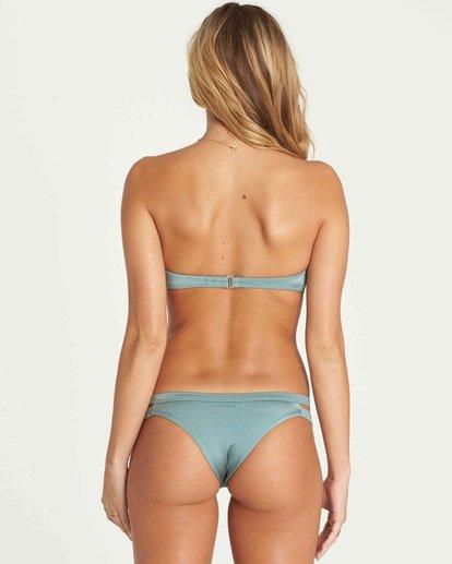 2 Sol Searcher Knot Me Bandeau Bikini Top Green XT50NBSO Billabong