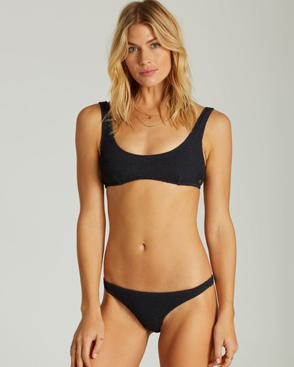 3 Summer High Bralette Bikiini Top Black XT50QBSU Billabong