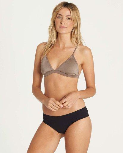 1 It's All About The Triangle Bikini Top Beige XT51JITS Billabong
