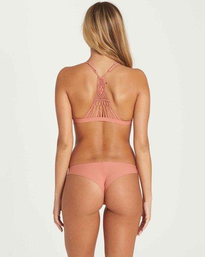 2 It's All About The Triangle Bikini Top Orange XT51JITS Billabong