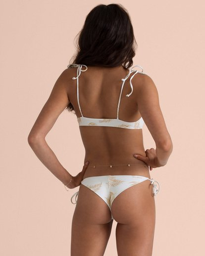 2 Sincerely Jules Dos Palmas Tali Bikini Top Yellow XT53TBDO Billabong