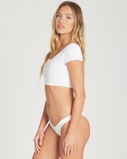 1 Heating Up Crop Bikini Top White XT69TBHE Billabong