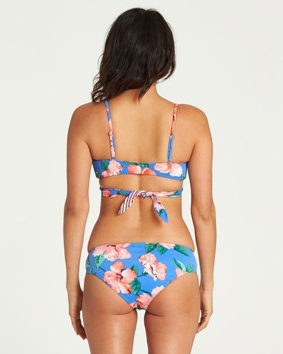 3 Blue Days Reversible Wrap Bralette Bikini Top Blue XT89NBBL Billabong