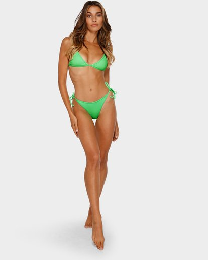 6 Kissed By The Sun Tri Bikini Top Green XT92TBKI Billabong