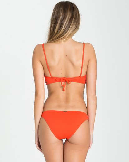 3 Love Myself Bra Bikini Top Red XT93NBLO Billabong