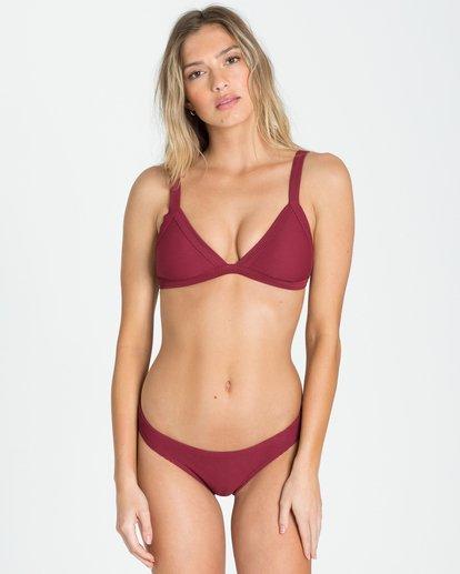 0 Shore Lines Fixed Triangle Bikini Top  XT94NBSH Billabong