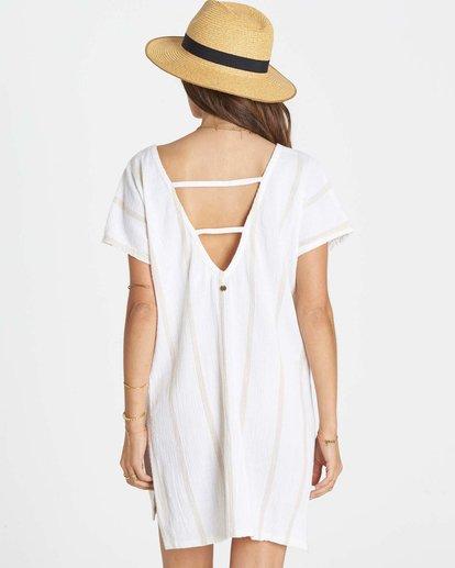 2 Palm Side Cover Up Dress White XV02LPAL Billabong
