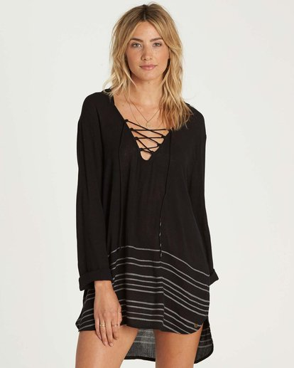 0 Same Story Hooded Cover Up  XV02NBSA Billabong