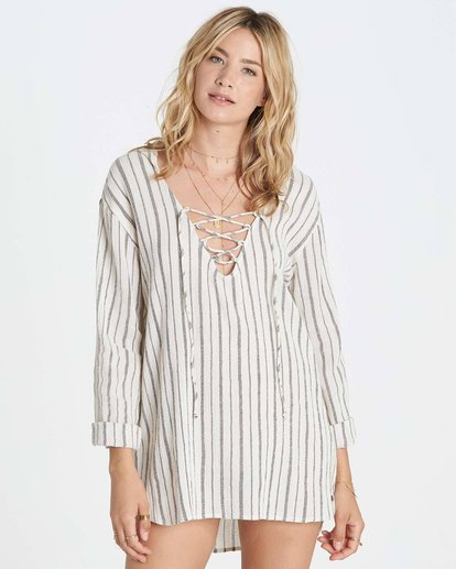 0 Same Story Hooded Cover Up  XV03LSAM Billabong