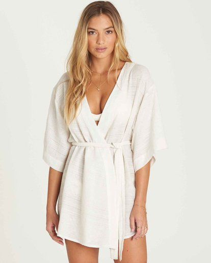 1 Stones Throw Cover Up Dress  XV03PBST Billabong