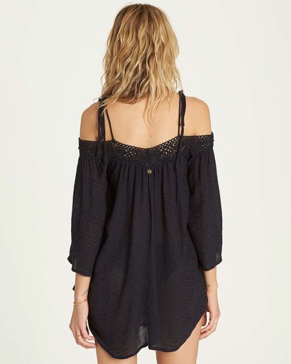 2 Breeze On Cover Up Black XV04MBRE Billabong
