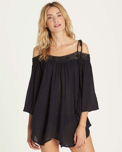 0 Breeze On Cover Up Black XV04MBRE Billabong