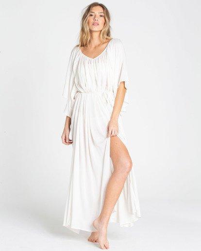 1 Sandy Shores Maxi Dress Cover Up Yellow XV05TBSA Billabong