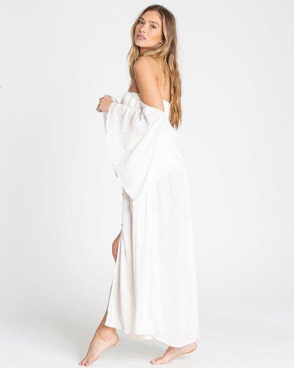 2 Sandy Shores Maxi Dress Cover Up Yellow XV05TBSA Billabong