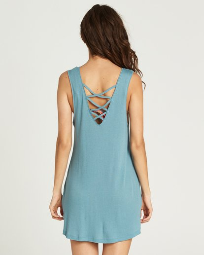 5 Lost At Sea Cover Up Dress Green XV12PBLO Billabong