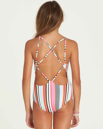 2 Girls' Like That One Piece Swim  Y102PBLI Billabong