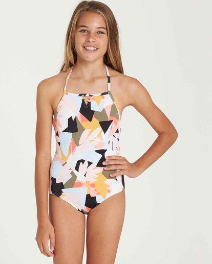 0 Girls' Shaka Daze One Piece Swim  Y104QBSH Billabong