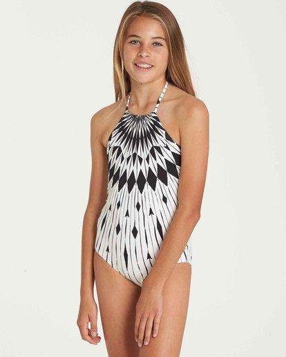 1 Girls' Sundial One Piece Swim  Y106QBSU Billabong