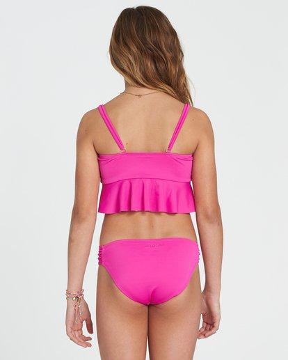 2 Girls' Sol Searcher Flutter Set Bikini Set Pink Y201SBSO Billabong
