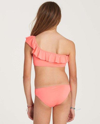 2 Girls' Sol Searcher One Shoulder Swim Set Pink Y202NBSO Billabong